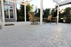 spray knockdown finish patio minneapolis