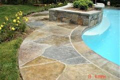 stained concrete pool deck minneapolis